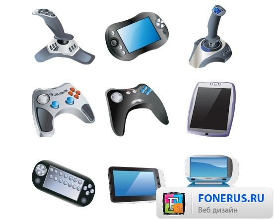 игровые иконки: